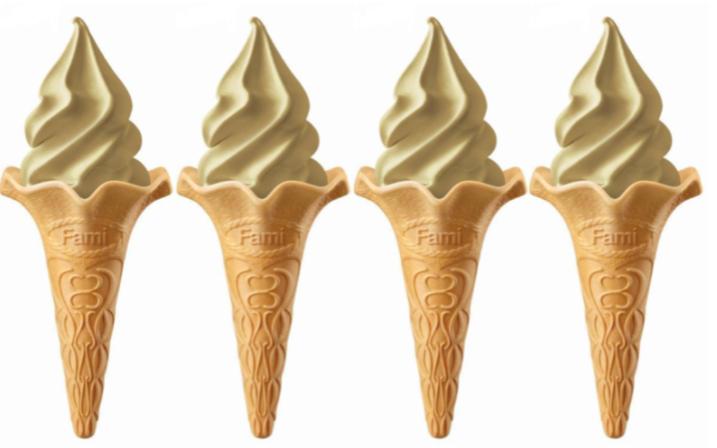 全家「鐵觀音霜淇淋」快閃回歸。圖/全家提供