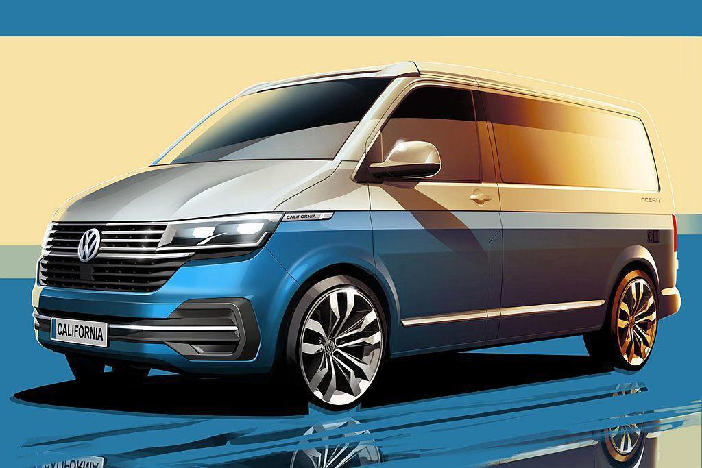 全球最熱賣的福斯商旅California露營車,將推出T6.1世代小改款車型。 ...