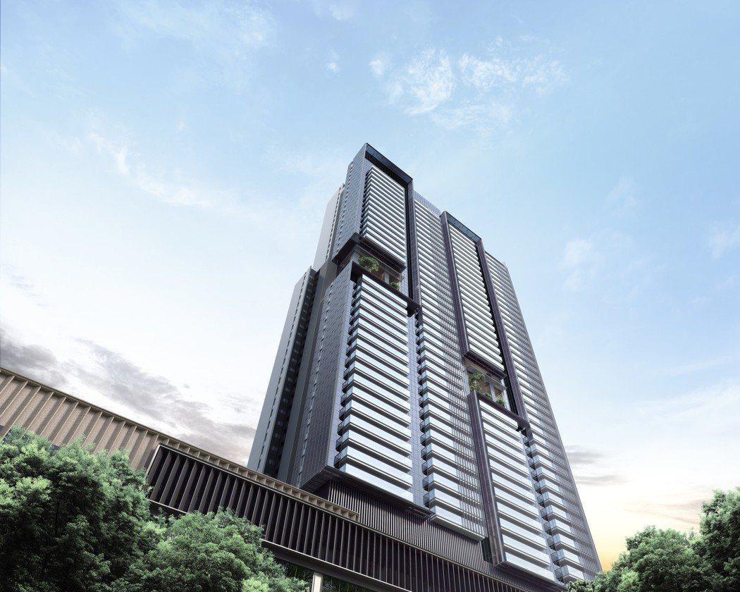 高雄國城定潮,由國際建築團隊規劃,市場關注度高。 業者/提供