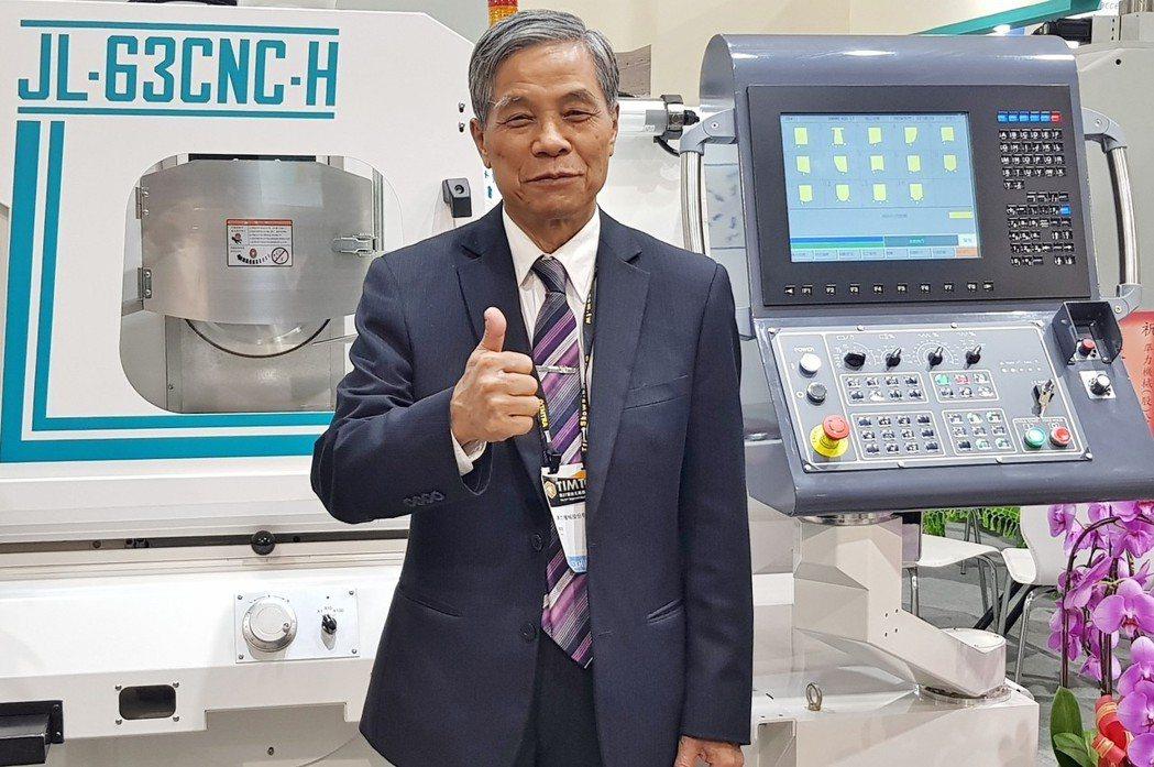 準力機械董事長林馨堂表示,為達成究極精度要求,該公司力行八大產品力,致力滿足客戶...