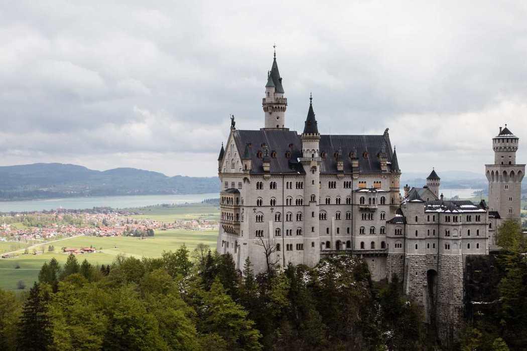 新天鵝堡/德國最美童話城堡