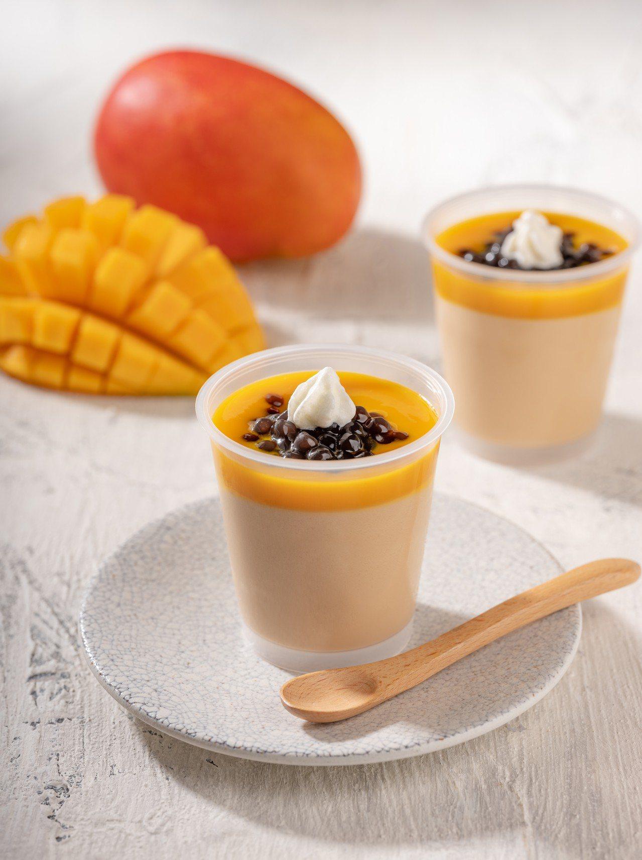 當珍珠遇到芒果,激迸出夏季甜美滋味。圖/春水堂提供
