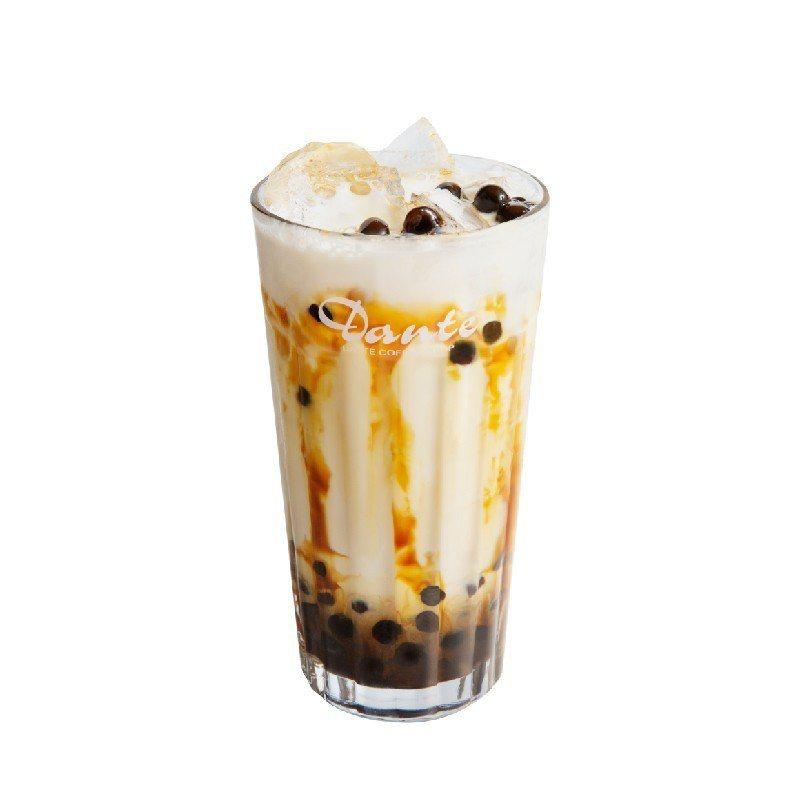 連鎖咖啡業者也打出「珍珠牌」。圖/丹堤咖啡提供