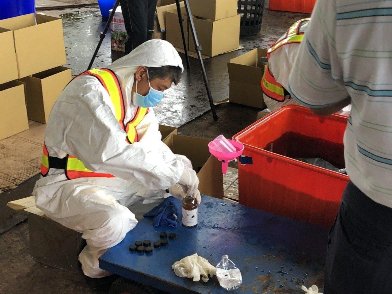 竹山蟻災肆虐 鎮公所製作2.2萬瓶餌劑下周開戰