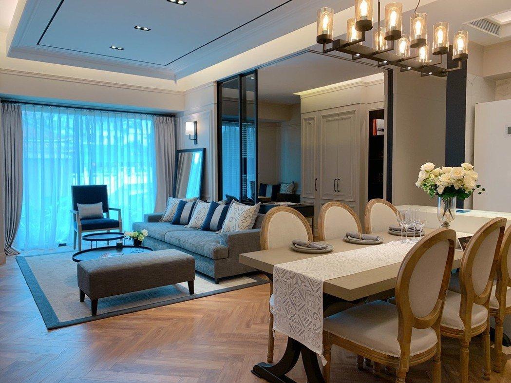 寬敞室內空間與良好採光,成為購屋族首選。記者徐力剛/攝影