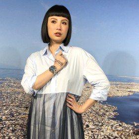 魏如萱搶先戴ORIS潛水新表 直呼 「女生戴男表也很帥」