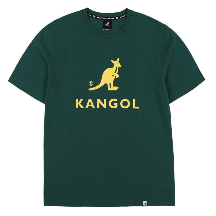 大袋鼠圖騰短袖T恤,售價1,880元。圖/KANGOL提供