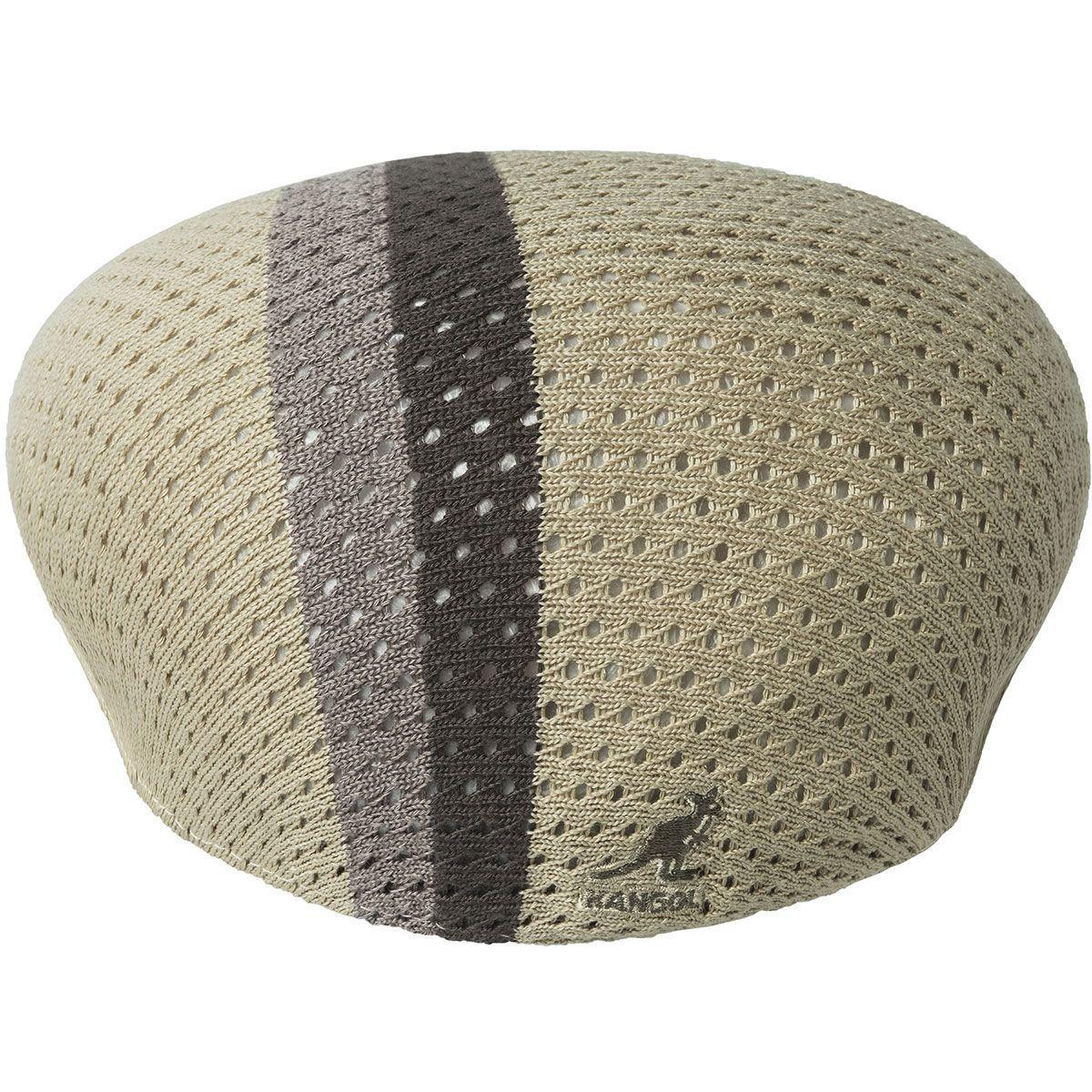 504 MESH STRIPE 撞色鴨舌帽 ,售價2,280元。圖/KANGOL...