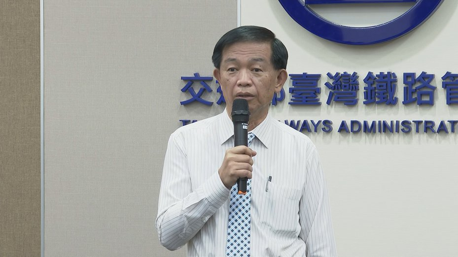 台鐵運務處長張錦松表示,台鐵和鐵路警察局將在一個月內全面檢討。記者謝育炘/攝影