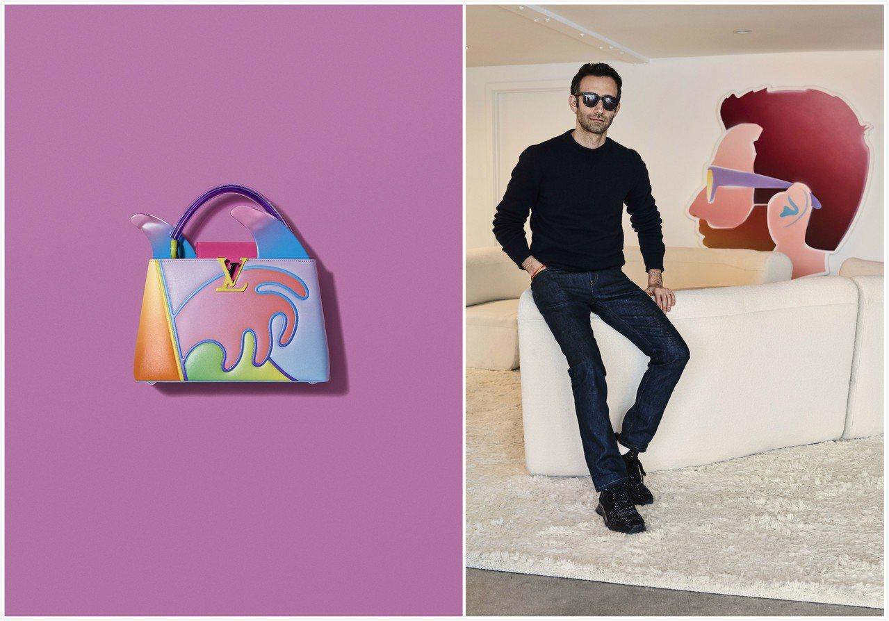 艾力克斯.伊斯瑞爾打造的Arty Capucines系列包款,售價29萬6,00...