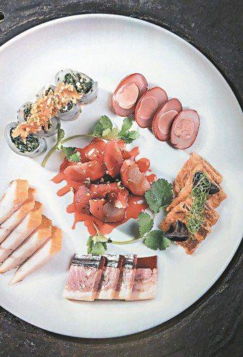 湖濱28的杭幫拼盤,精緻化的中菜取得更多高消費人群的青睞。 圖/張聰 Desmo...