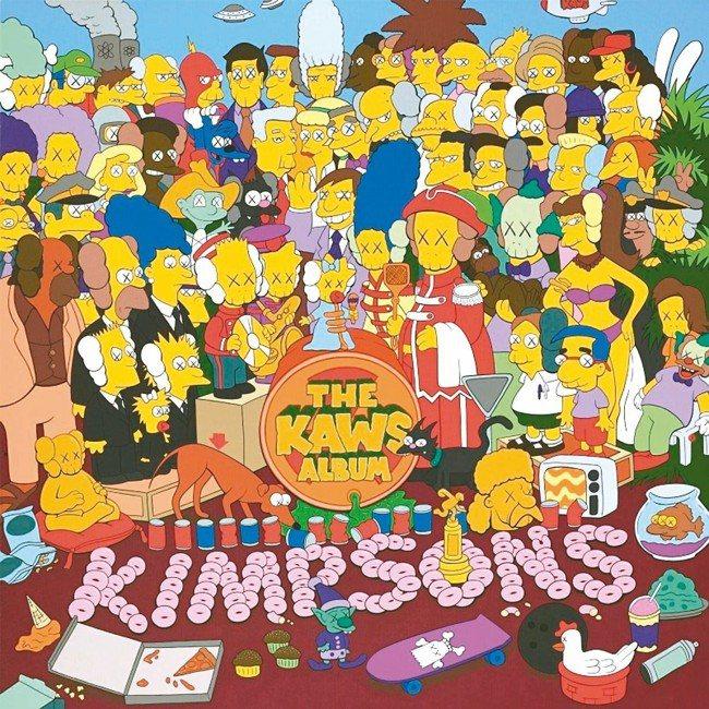 最夯的美國潮流藝術家KAWS 2005年作品《THE KAWS ALBUM》四月...