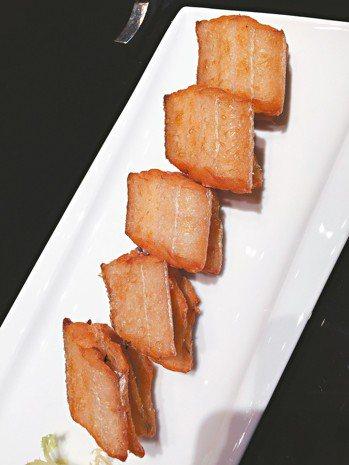 新榮記的乾煎帶魚。中國菜在食材優化後往精品進階,新榮記是領軍者。 圖/張聰 De...