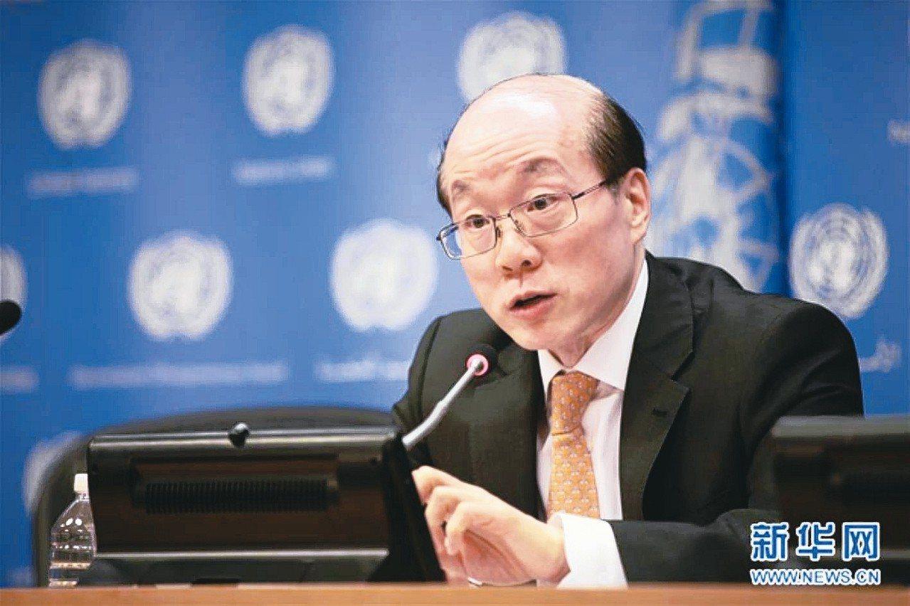 台北市長柯文哲下午將與中共國台辦主任劉結一(見圖)會面。 圖/聯合報系資料照片