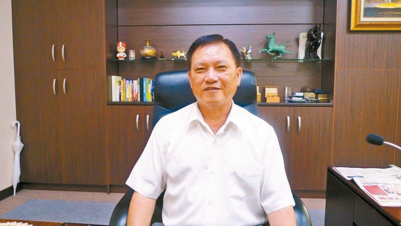 泰碩董事長余清松。 圖/聯合報系資料照片