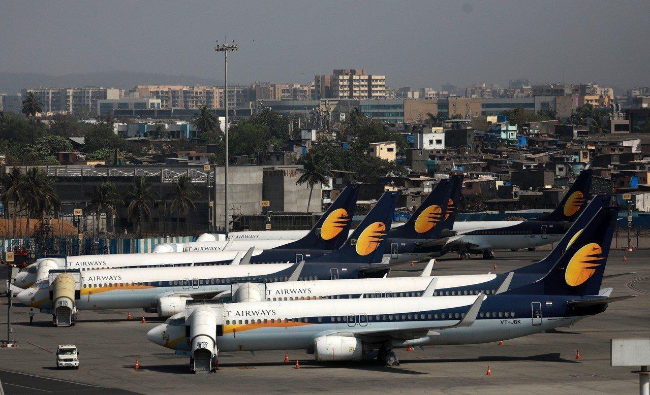 印度捷特航空。 新華社