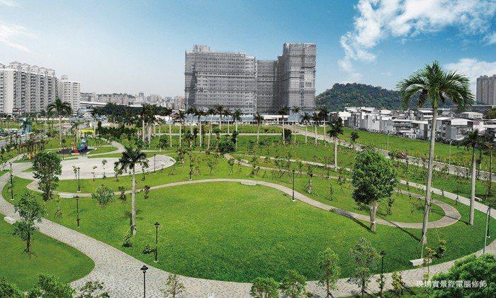本案正對7700坪中央公園,享難得的市中心綠意景觀