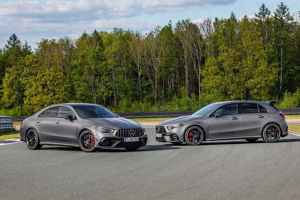 給你421匹的超狂馬力 全新Mercedes-AMG A 45、CLA 45連袂現身!