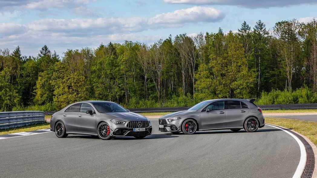 新世代Mercedes-AMG A 45 4MATIC+、CLA 45 4MAT...