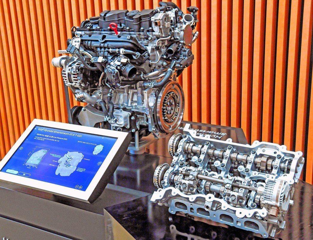 Hyundai發表具CVVD連續可變汽門期間 ( Continuously Va...