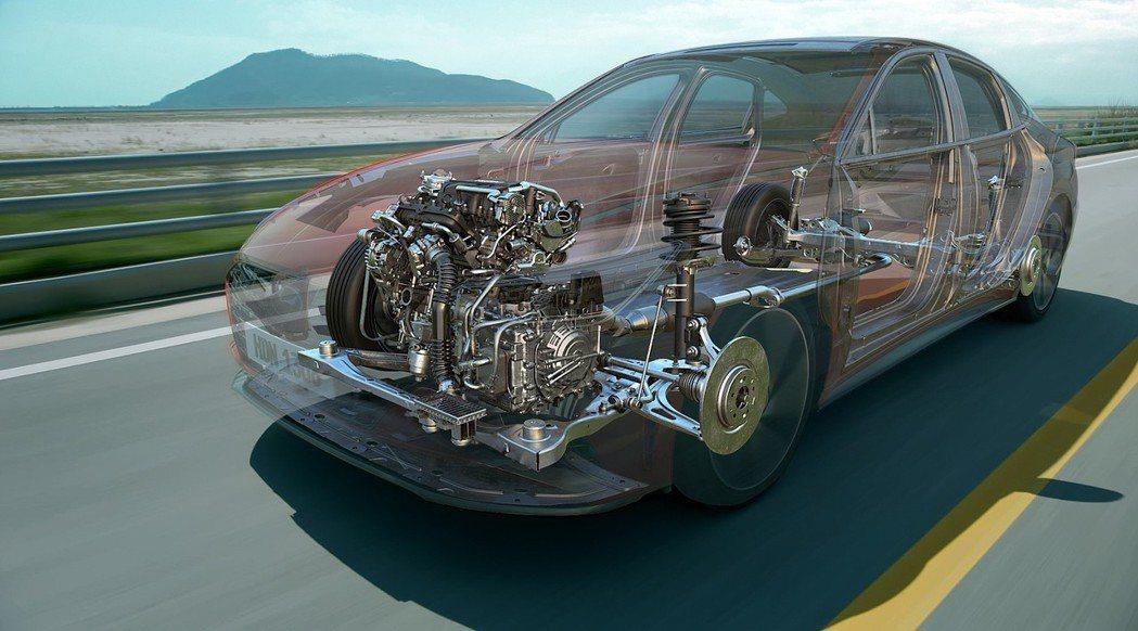 由於這具SmartStream G1.6 T-GDi新式引擎是針對效能改進,因此...