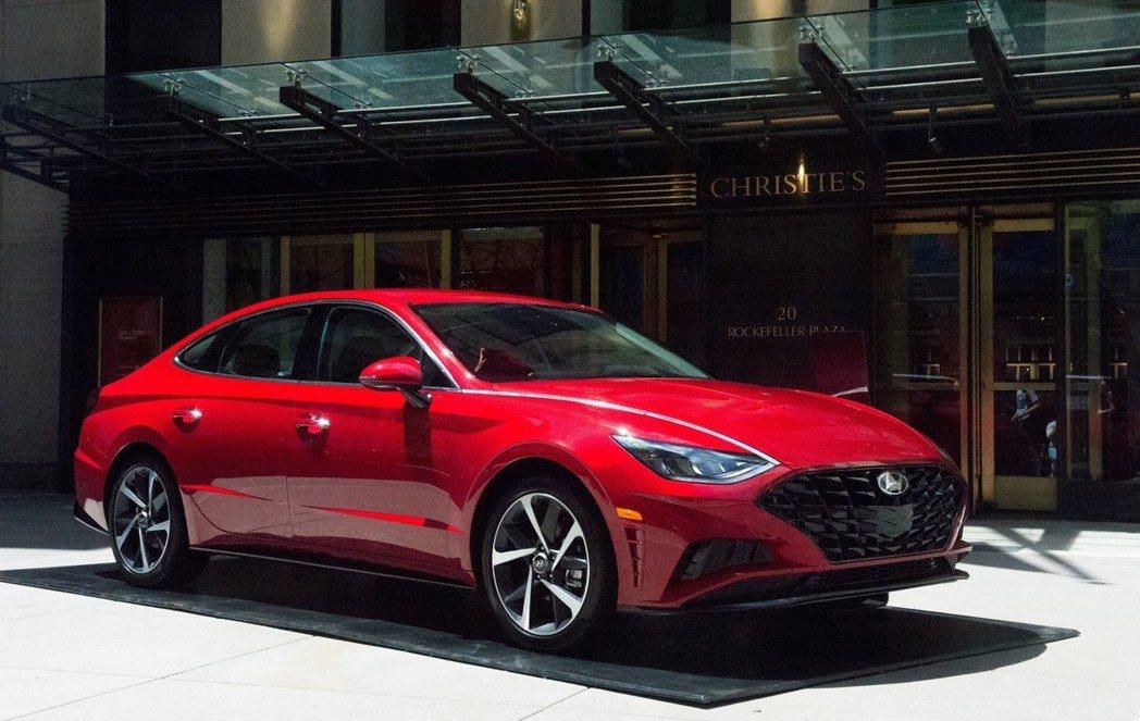Hyundai Sonata Turbo將是Hyundai-Kia集團首款使用具...