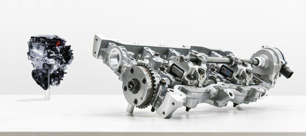 除了CVVD技術外,新SmartSteam G1.6 T-GDi引擎還使用了LP...
