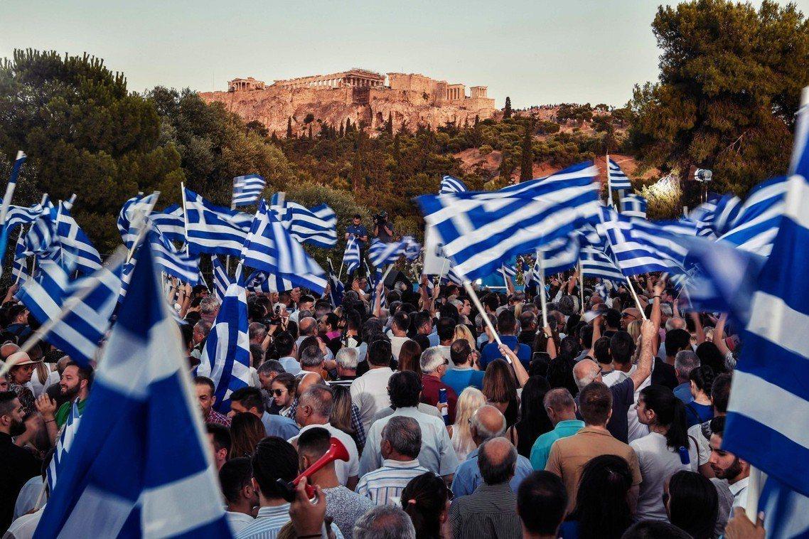 希臘將於7日舉行大選,在青年失代的憤怒與絕望之下,現任總理齊普拉斯( Alexi...