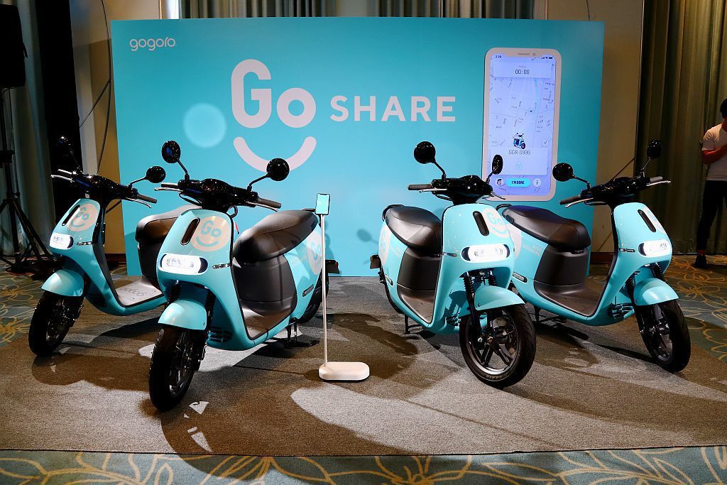 GoShare提供暢遊城市的騎乘體驗,隨訂隨還。 記者張振群/攝影