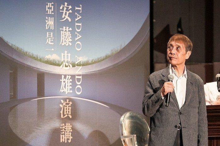 安藤忠雄暌違多年再度來台舉辦大型公益演講 圖/忠泰建築文化藝術基金會提供