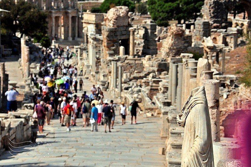 世界七大奇蹟之一的「艾菲索斯古城」。