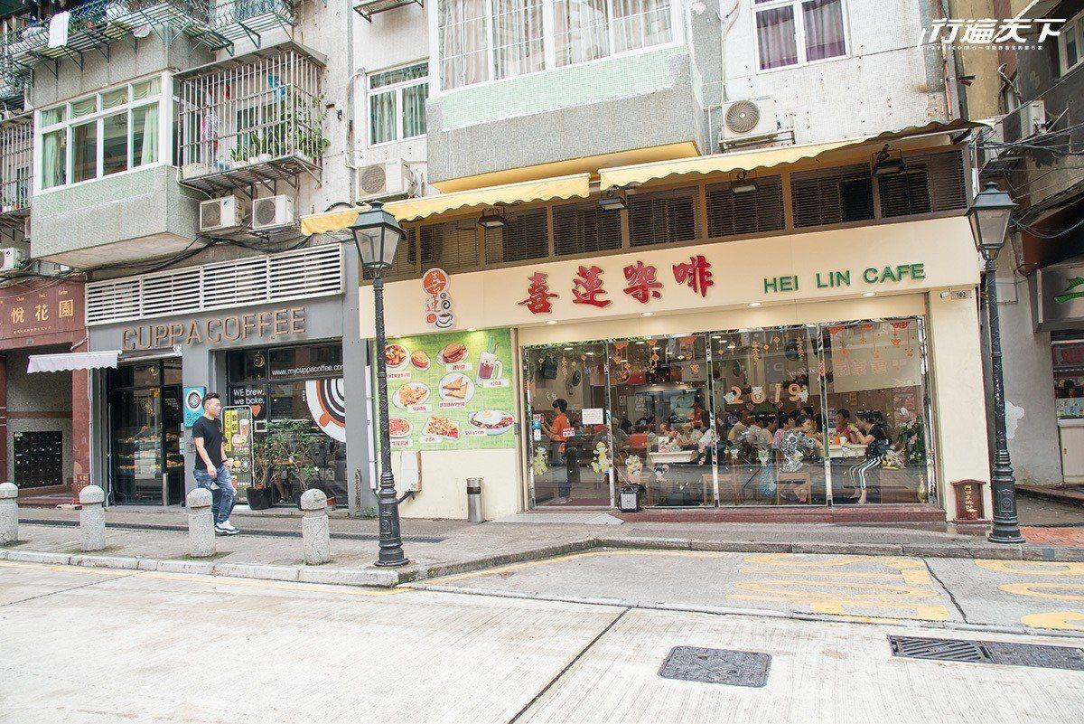 喜蓮咖啡,是許多在地人喜愛的土生菜小館。