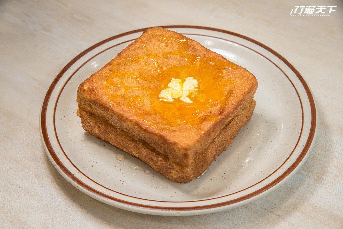 花生醬西多士也是很受歡迎的點心。