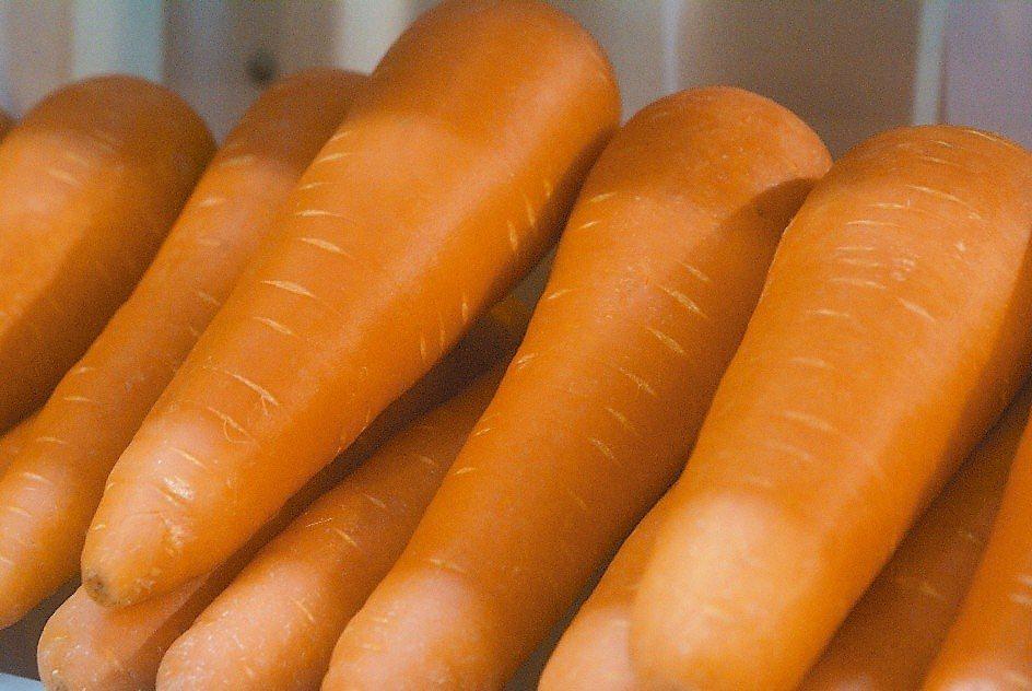 胡蘿蔔。本報資料照片