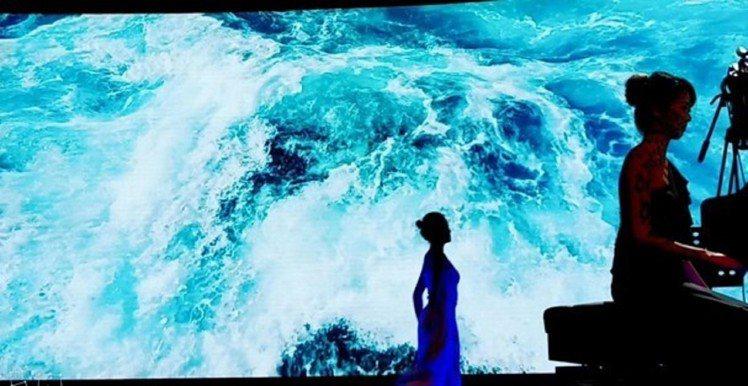 「水•彩」生態多媒體劇場。圖/台北市立動物園提供