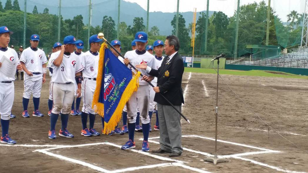 中華青少棒隊拿小馬聯盟世界賽亞太區代表權。圖/中華棒協提供
