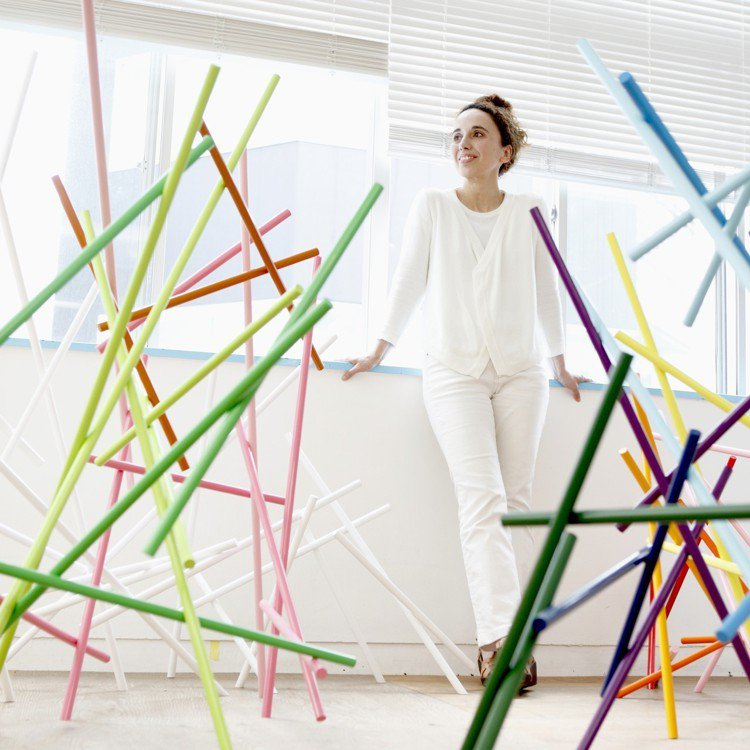 設計師Emmanuelle Moureaux。圖/誠品提供