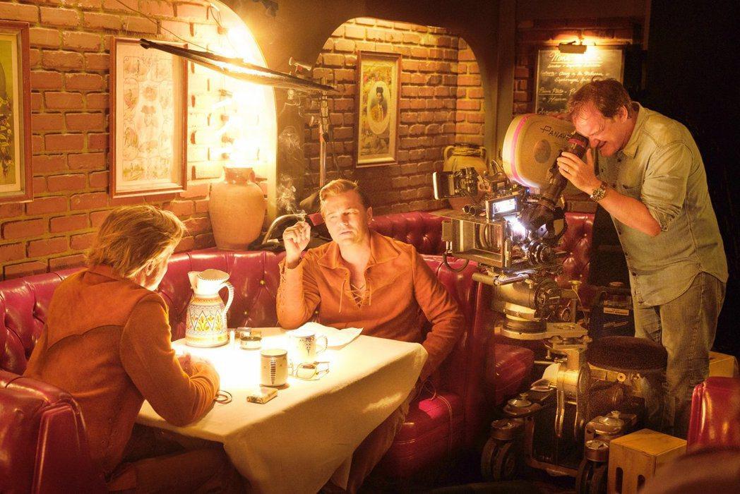 昆汀塔倫提諾拍攝「從前,有個好萊塢」,花費很多心思。圖/双喜提供