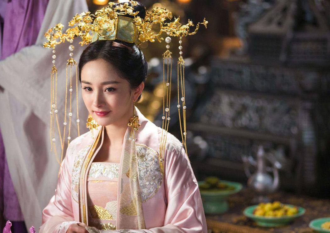 楊冪主演的「扶搖」。圖/中天娛樂台提供