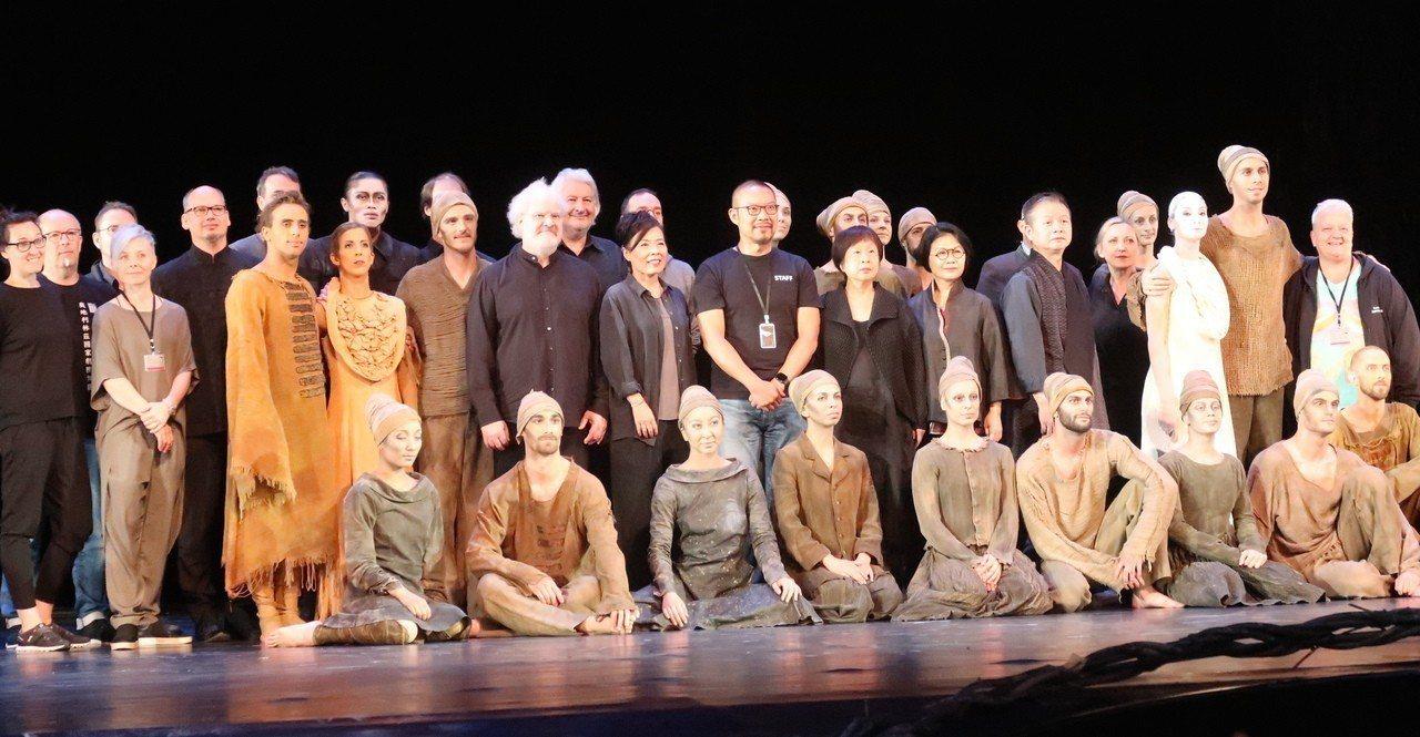 奧地利林茲國家劇院藝術總監林美虹舞作「新娘妝」,亞洲首演7月6、7日在衛武營。記...
