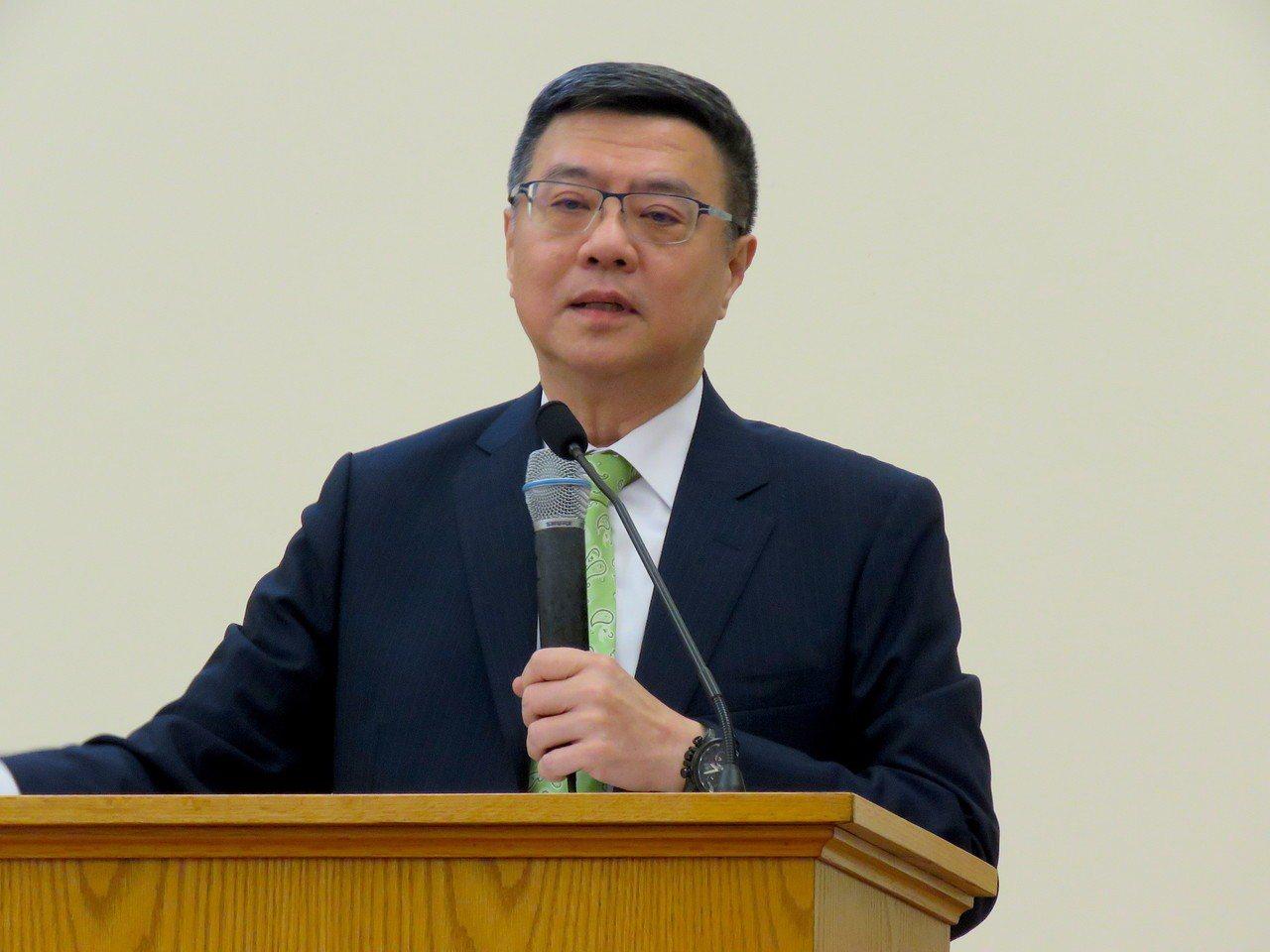 民進黨主席卓榮泰30日在美國華府舉行僑界座談會。 聯合報系華盛頓記者張加/攝影