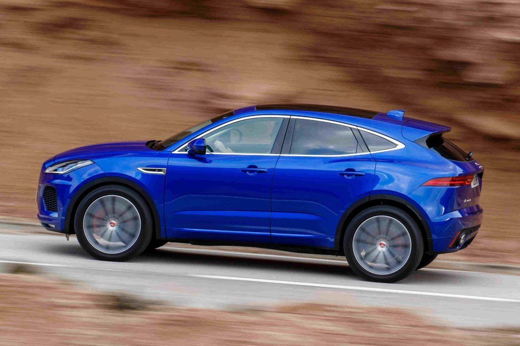 全新19年式Jaguar E-Pace車系編成包含P200 S、 P200 R-...