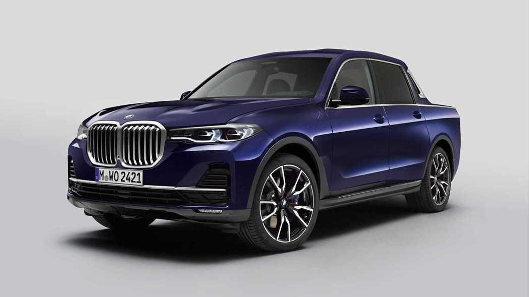 以BMW X7為建構基礎的X7 Pickup,其實只是輛原型概念車而已。 摘自B...
