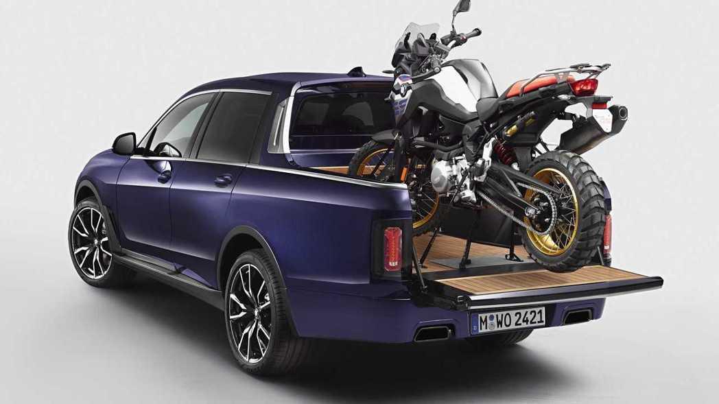 這輛BMW X7 Pickup概念皮卡看起來似乎有模有樣,大家覺得如何呢? 摘自...