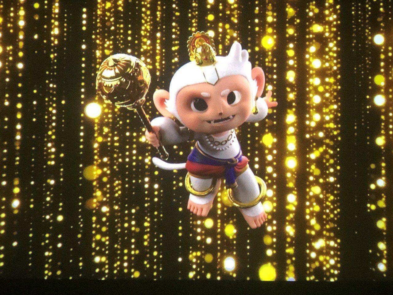 故宮南院亞洲劇場全新拍攝「羅摩衍那」3D動畫影片首映。記者魯永明/攝影