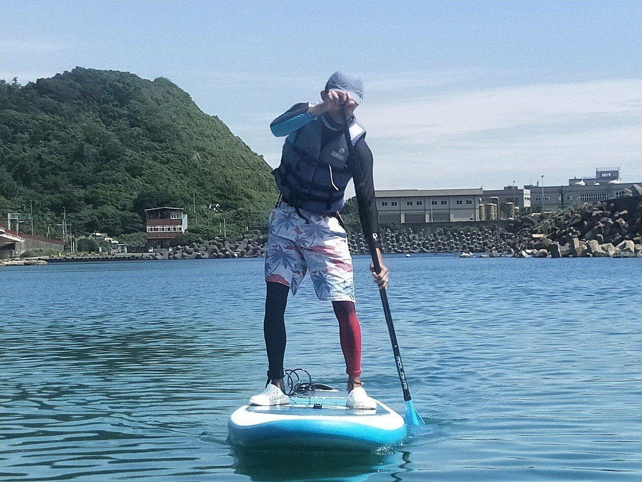 國立台灣海洋大學二年前引進SUP,成為體育正式課程,很受學生歡迎,一人及多人使用...