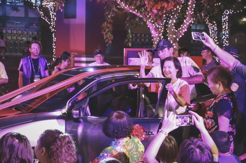 宜蘭童玩節今天開幕,今年讓人大動心的還包括可以抽70萬的汽車,媲美尾牙最大獎。圖/宜蘭縣政府提供
