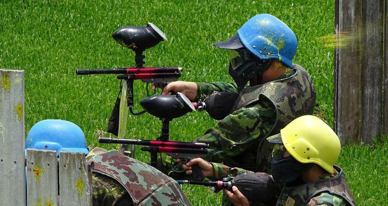 大溪警分局 暑假少年漆彈體驗營