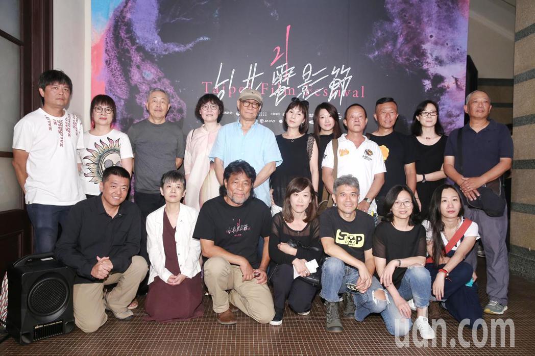 台北電影節下午舉行《海上花》 數位修復版首映,當年劇組出席觀看。記者林伯東/攝影