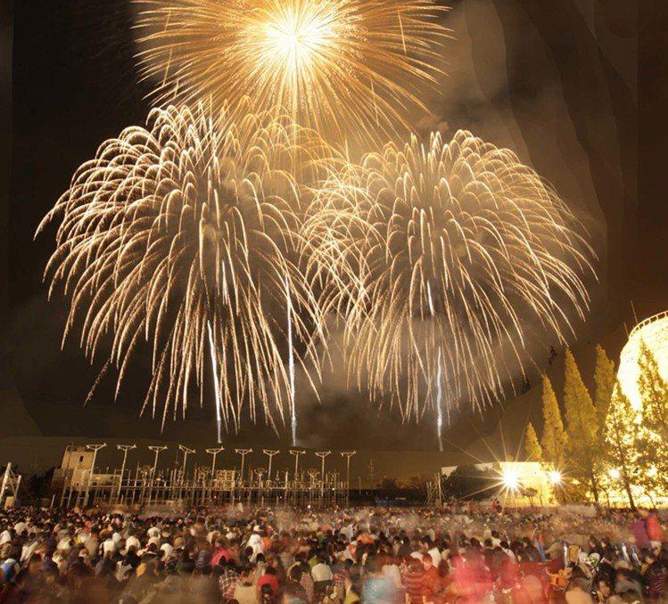 長島溫泉將在8月舉辦超人氣花火大競演。圖/主辦單位提供